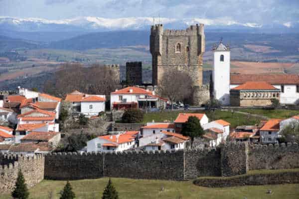 Cidade de Bragança Portugal - Torre de menagem