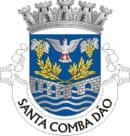 Santa Comba Dão Portugal, imagem aérea da cidade