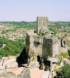 Castelo de Sortelha no Sabugal