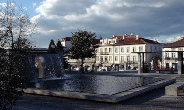 Centro da cidade de Fafe