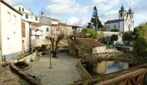 Cidade de Santa Comba Dão em Portugal - Fotografia Principal