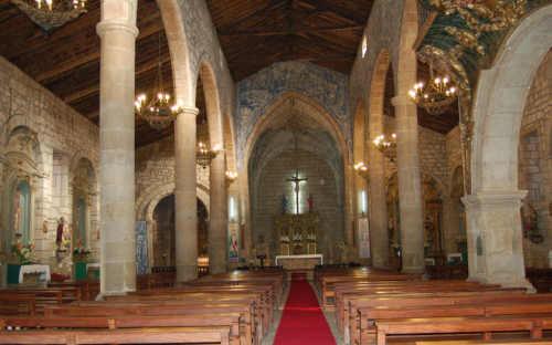 Igreja Matriz de Chaves - Interior