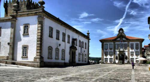 Paços do Concelho em Chaves Portugal