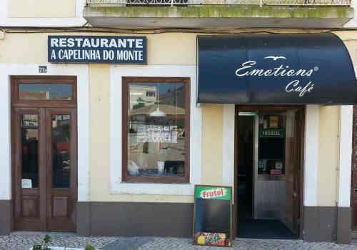 Restaurante A Capelinha do Monte nas Caldas da Rainha