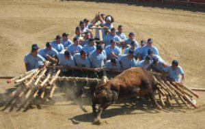 Forcão é uma tradição na cidade de Sabugal