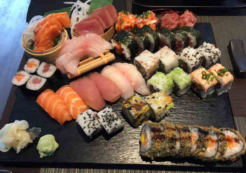 Kabuki Sushi nas Caldas da Rainha