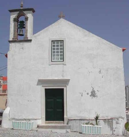 Capela de Nossa Senhora da Conceição em Buarcos (Figueira da Foz) - Fachada principal