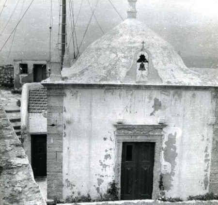 Capela de Santa Catarina fica dentro do forte com o mesmo nome