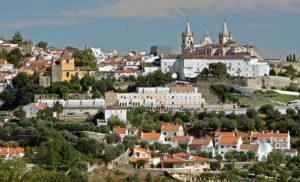 Portalegre Portugal - Vista panorâmica da cidade