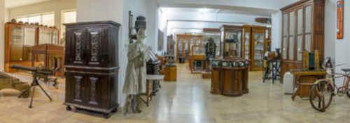 Interior do museu municipal Santos Rocha, na cidade da Figueira da Foz