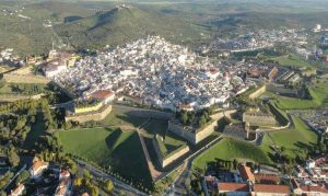 Cidade de Elvas - Vista aérea