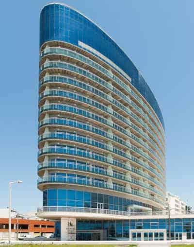 Edifício do hotel Eurostars Oasis Plaza