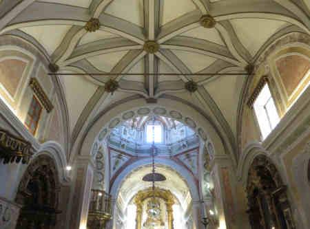 Interior da Igreja da Misericórdia de Montemor-o-Novo