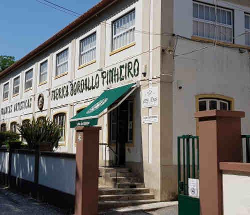 Loja da Fábrica Bordalo Pinheiro nas Caldas da Rainha