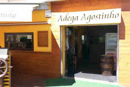 Adega Agostinho em Esposende - entrada principal
