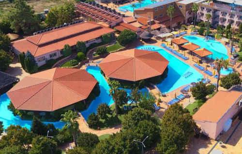 Alambique de Ouro Hotel no Fundão - vista aérea