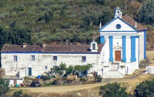 Capela de Nossa Senhora da Penha no município de Portalegre