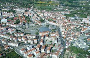 Fundão - vista aérea da cidade