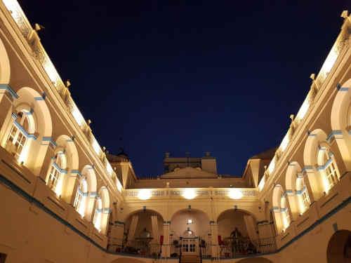 Hotel de Moura - pátio interior