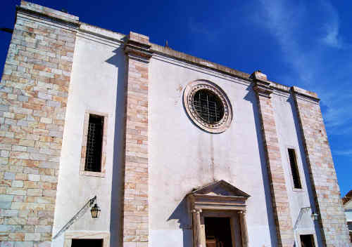 Igreja de Santa Maria do Castelo - Igreja Matriz de Estremoz - Fachada principal