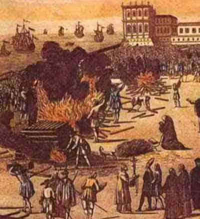 Ilustração da Inquisição em Portugal