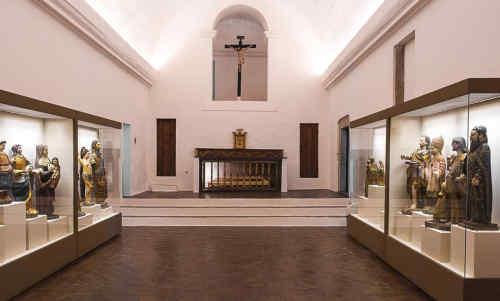 Museu de Arte Sacra de Moura (Igreja de São Pedro) - Vista interior