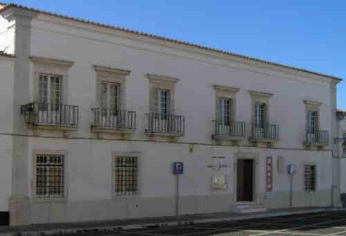 Museu Municipal Professor Joaquim Vermelho - Fachada principal