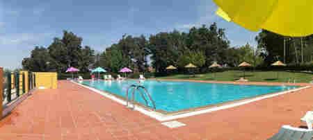 Piscina pública Quinta da Saúde em Portalegre