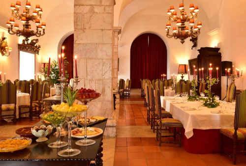 Pousada do Castelo de Estremoz - Salão de refeições