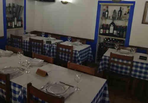 Restaurante Venda Azul em Estremoz - Sala de jantar