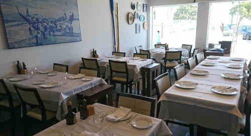 Restaurante Canastra do Fidalgo na Costa Nova, concelho de Ílhavo