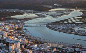 Cidade de Portimão - vista aérea