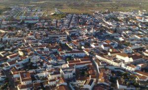 Cidade de reguengos de Monsaraz - vista aérea