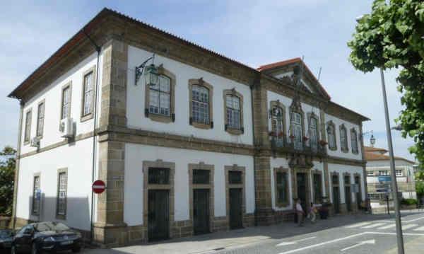 Edifício da Câmara Municipal de Penafiel finais do século XVIII