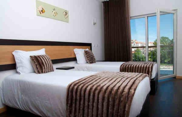 Quarto twin no Hotel Muchacho em Macedo de Cavaleiros