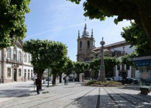 Centro da cidade de Penafiel
