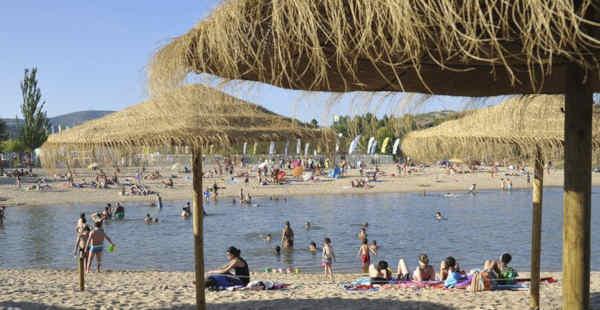 Praia da Ribeira em Macedo de Cavaleiros