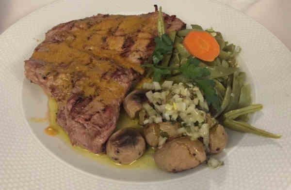 Posta Transmontana no restaurante Brasa em Macedo de Cavaleiros