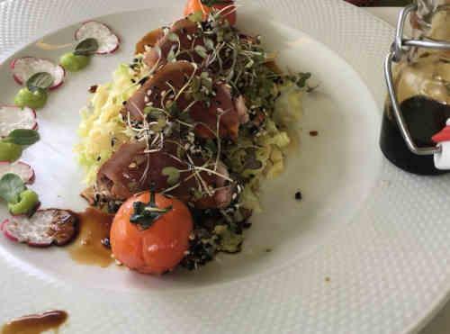 Restaurante Quinta da Pacheca em Lamego - Prato Gourmet