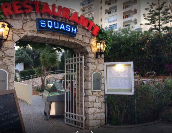 Restaurante Squash em Portimão