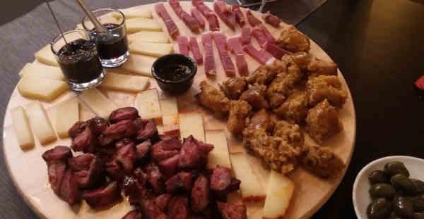 Restaurante Villar de Masaedo em Macedo de Cavaleiros - Entradas