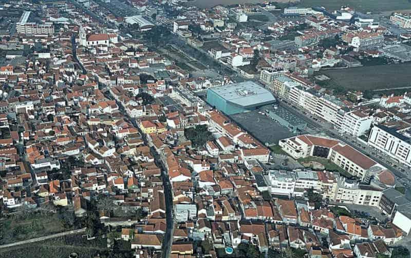 Ílhavo - vista aérea da cidade