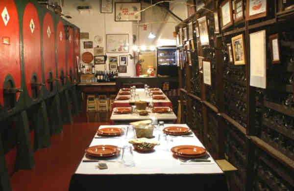 Interior do restaurante Casa das Ratas em Tomar