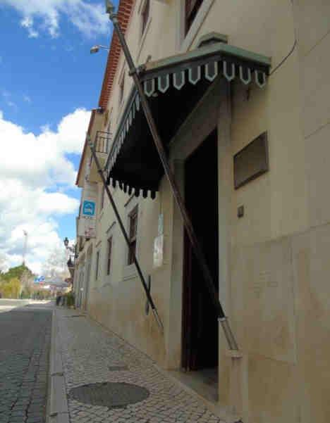 Hotel Cavaleiros de Cristo - Entrada