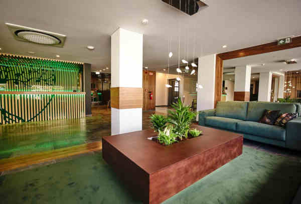 Hall do Hotel Cruzeiro em Angra do Heroísmo