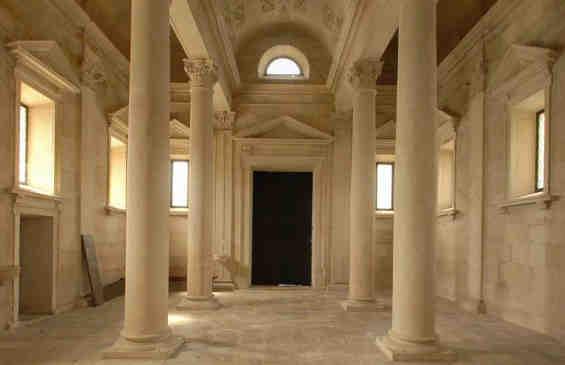 Interior da Ermida de Nossa Senhora da Conceição em Tomar