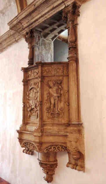 Púlpito do refeitório do Convento de Cristo em Tomar