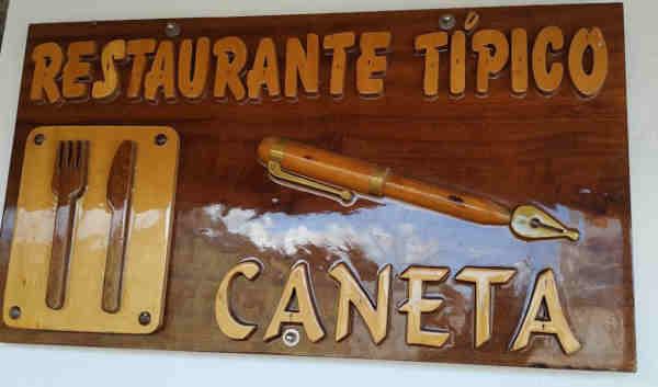Restaurante Caneta em Angra do Heroismo