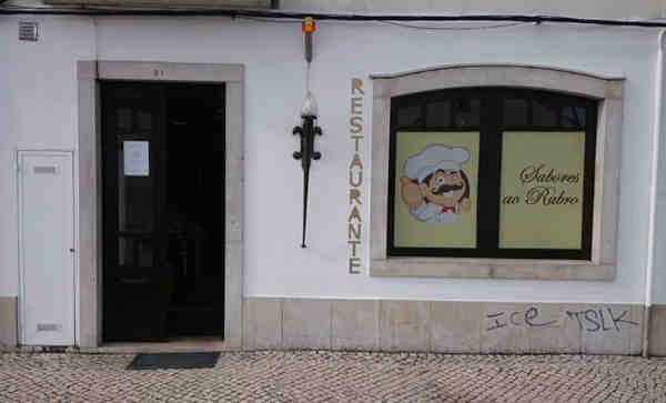 Restaurante Sabores ao Rubro em Tomar - Entrada