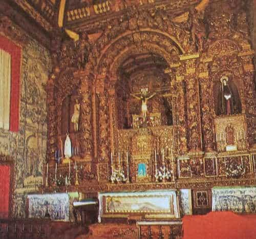 Pormenor do Altar da Igreja da Misericórdia